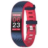фитнес-браслет Qumann QSB 12, темно-синий/красный