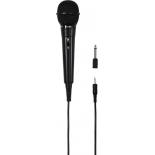 микрофон мультимедийный Hama H-46020, черный