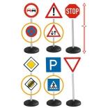 товар для детей BIG,игрушечные дорожные знаки ( 6 шт.) 27 х 12 х 69 см