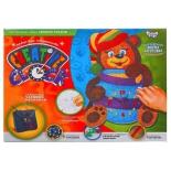 аппликация набор для творчества Danko Toys Creative clock Медвежонок (СС-01-05)