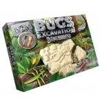 набор для научных экспериментов Danko Toys Bugs Excavation Насекомые (богомол, скорпион, жуки)