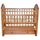 Детская кроватка Briciola10 маятн.прод. ящ. авт. - светлая, купить за 10 300руб.