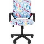 компьютерное кресло Chairman Kids 103 детское, единороги