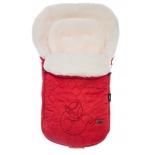 конверт для новорожденного Nuovita Polare Bianco rosso (зимний), красный