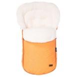 конверт для новорожденного Nuovita Polare Bianco Arancio (зимний), оранжевый