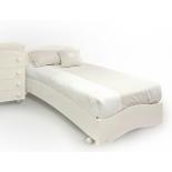 кровать Fiorellino Pompy, 190*90см, Слоновая кость
