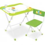 комплект детской мебели Ника КНД5/2 с медвежонком, 3-7 лет