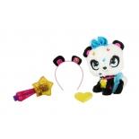 игрушка мягкая Simba Плюшевая панда Shimmer Stars, с сумочкой