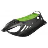 санки Gismo Riders Neon Grip, детские пластиковые, черно-зеленые