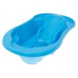 ванна детская с отливом и термометром Tega Baby Komfort, синяя