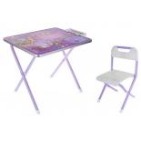 комплект детской мебели Дэми №1 София Прекрасная, фиолетовый