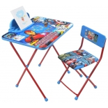 комплект детской мебели Ника Disney 4 Мстители, синий