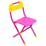 стул складной Дэми № 3 ,  детский , розовый