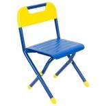 стул складной Дэми № 2 детский , синий/желтый