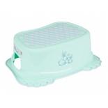 набор аксессуаров для ванной комнаты Tega baby Кролики, антискольз.,подставка, зеленая