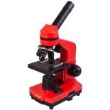 микроскоп Levenhuk Rainbow 2L апельсиновый