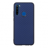 Чехол для смартфона G-Case Carbon для Xiaomi Redmi Note 8T, темно-синий, купить за 730руб.