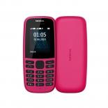 сотовый телефон Nokia 105 TA-1203, розовый