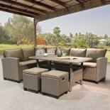 комплект садовой мебели Afina  AFM-307B бежевый