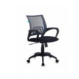 кресло офисное Бюрократ CH-695N/DG/TW-11 серо-черное