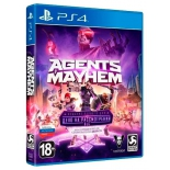 игра для PS4 Deep Silver Agents of Mayhem Издание первого дня