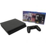 игровая приставка SONY PlayStation 4 (Detroit, Horizon: Zero Dawn, The Last of Us) черная