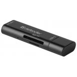 картридер Defender Speed Stick USB 3.1 TYPE C - USB/SD/TF (83205)