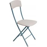 стул складной Ника ССН2/2, светло-серый