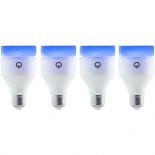 лампочка LIFX A19 4 шт. набор, светодиодные, цоколь E27