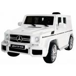 электромобиль RiverToys Mercedes-Benz G63 T999TT, белый