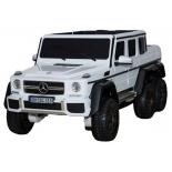 электромобиль Barty Mercedes-Benz G63-AMG 4WD, белый