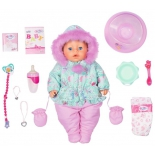 кукла Zapf Creation BABY born интерактивная Зимняя, 43 см (827-529)