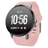 Умные часы Jet Sport SW-1 серебристый/розовый