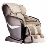 кресло массажное GESS Desire GESS-825 kombo бежево-коричневое