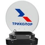 комплект спутникового телевидения Триколор GS B534М + GS C592 Европа, комплект на 2 ТВ черный