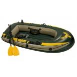 Лодка надувная Intex Сихок 68347 (на 2-х человек), купить за 3 510руб.