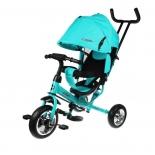 Трехколесный велосипед Moby Kids Start 10x8 Eva бирюзовый