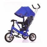 Трехколесный велосипед Moby Kids Start 10x8 Eva синяя