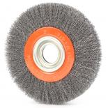 круг абразивный щетка EDGE by Patriot (813010015) (для точила, плоская, 125x20 мм)