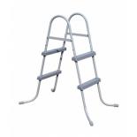 лестница для бассейна BestWay 58430 BW до 84см, 2 ступеньки, без площадки