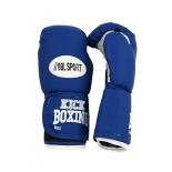 перчатки боксерские REALSPORT RS212 12 унций, синие