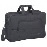 сумка для ноутбука Riva 8455, черная