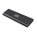 корпус для жесткого диска AgeStar 3UBNF1 m2 NGFF 2280 B-Key (для  SSD) серый