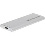 корпус для жесткого диска Transcend TS-CM42S для  SSD M.2, серебристый