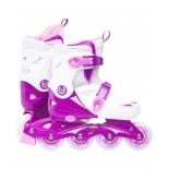 ролики раздвижные Ridex Cricket Purple, пластиковая рама, размер: L / 39-42