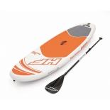 доска для плавания SUP Bestway 65302 BW (весло, насос и сумка в комплекте)