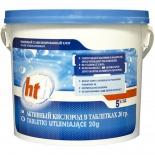 щетка для чистки бассейнов Активный кислород в таблетках HTH D801130H2 по 20гр., 5кг