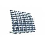 гантельная стойка Ziva ZST-VS30-6001 на 30 пар белая