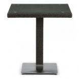 стол садовый Afina T605SWT-W53-70x70 Brown, ротанг