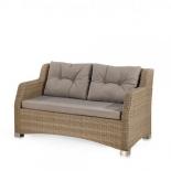 диван Afina S51B-W65 плетеный,  светло-коричневый
